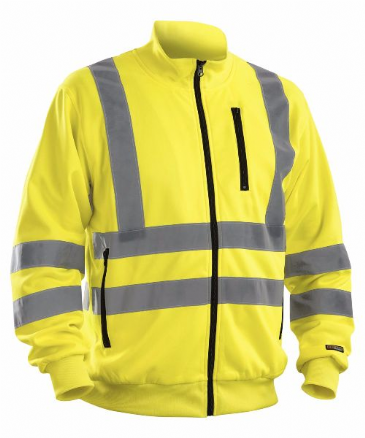Blaklader 3358 High visibility Sweatshirt (Yellow)